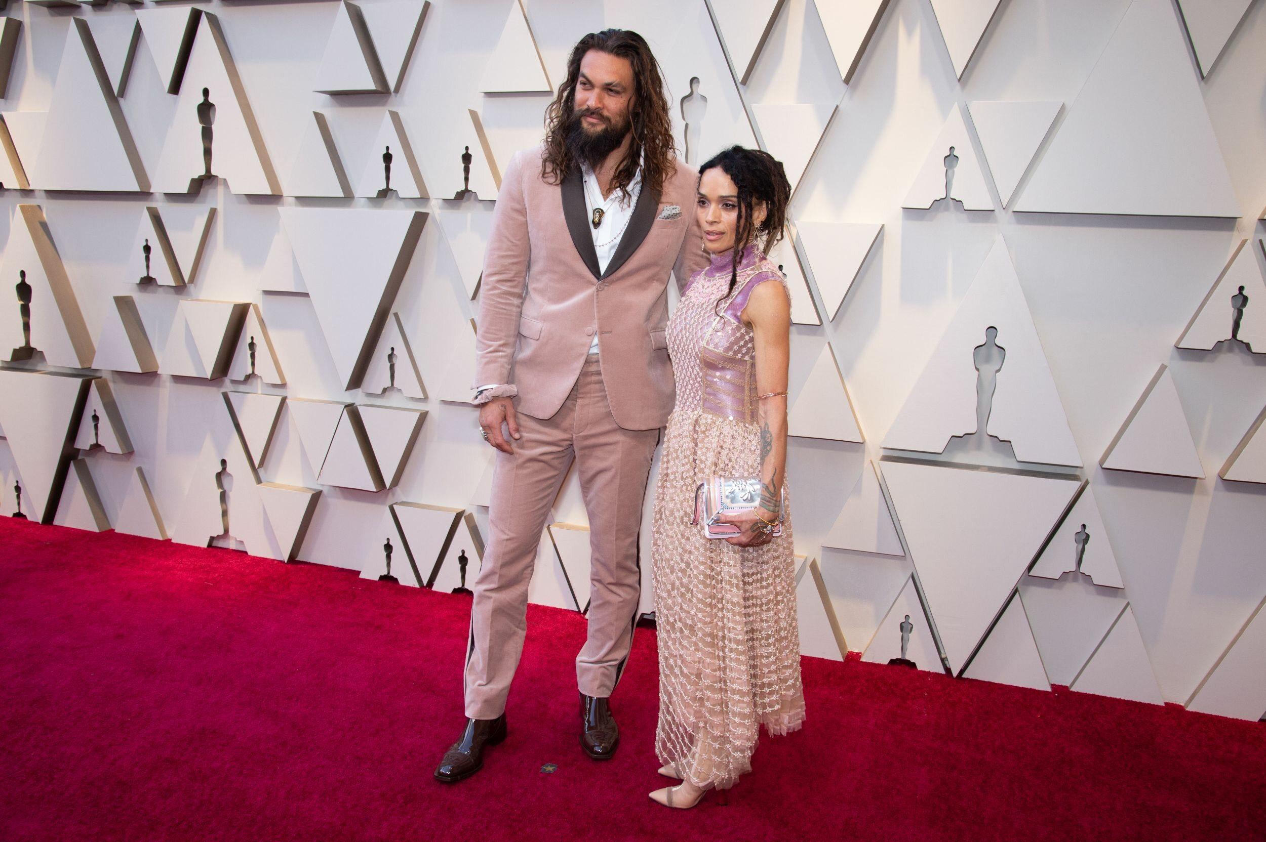 Jason Momoa i Lisa Bonet na Oscarach