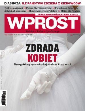 Okładka tygodnika Wprost nr 24/2009 (1379)