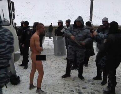 Film pokazujący brutalność Berkutu do sieci wrzucił milicjant