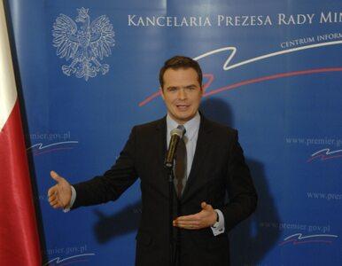"""Nowak: premier nikogo nie ostrzegł, przeciek był do """"Rz"""""""
