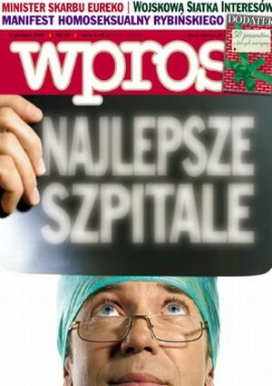Okładka tygodnika Wprost nr 48/2005 (1200)