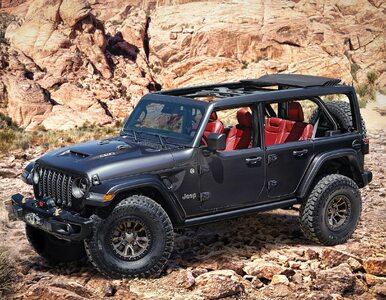 Powrót po 30 latach! Nowy Jeep Wrangler z monstrualnym 6,4-litrowym...