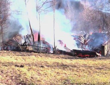 Doszczętnie spłonął dom pod Jelenią Górą