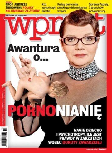 Okładka tygodnika Wprost nr 32/2013 (1589)