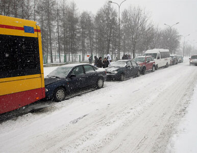 Zima królową dróg