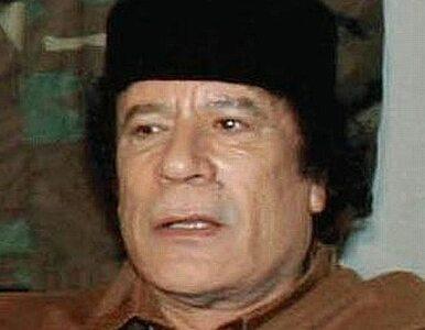 Kaddafi namawia Palestyńczyków do powstania przeciw Izraelowi
