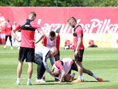 Pechowy pierwszy trening kadry Nawałki. Piłkarz doznał kontuzji