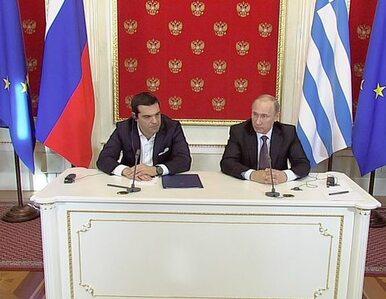 Premier Grecji w Moskwie. Chce rozmów o bezpieczeństwie regionu