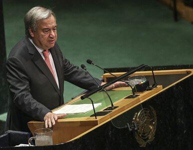 """Kryzys w ONZ. """"Możemy nie mieć na pensje w listopadzie"""""""