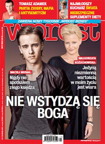 Okładka tygodnika Wprost nr 17/2014 (1625)