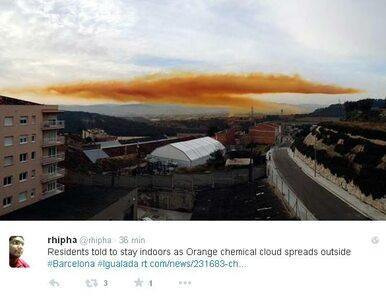 Toksyczna chmura nad Katalonią. Ludzie nie mogą wychodzić z domów