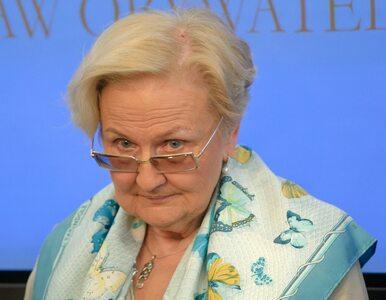 Prof. Łętowska komentuje ustawę o zgromadzeniach: Może wysiądzie coś...