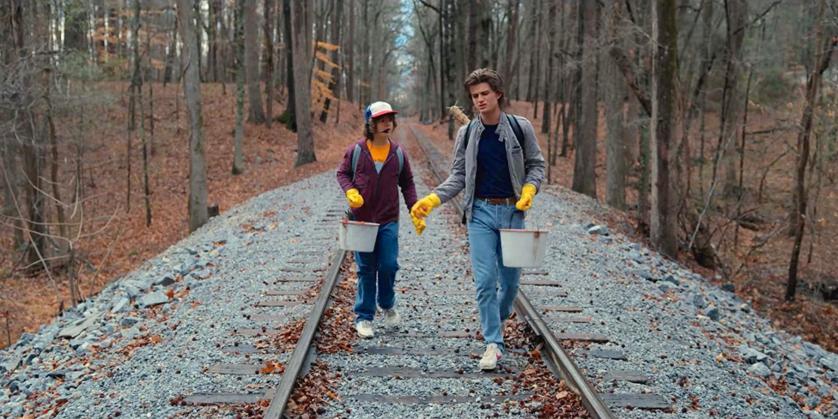 """Kadr z 2. sezonu serialu """"Stranger Things"""""""