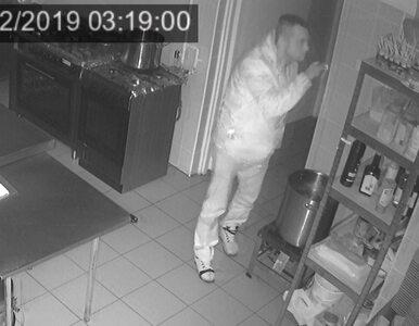 Okradał restaurację w... skarpecie na dłoni. Policja szuka tego mężczyzny