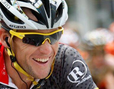 Lance Armstrong pozwał agencję antydopingową, ale bez efektu