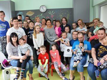 Lewandowscy wsparli Centrum Zdrowia Dziecka