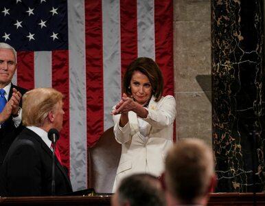 Nancy Pelosi skradła Trumpowi show. To, jak oklaskiwała prezydenta,...