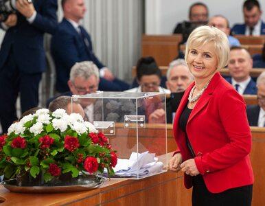 """Lidia Staroń na czele nowej komisji w Senacie? """"Taka posada po ostatnich..."""