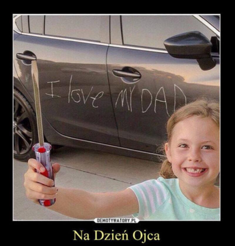 Mem z okazji Dnia Ojca