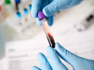 Nowy test z krwi pomoże wykryć raka