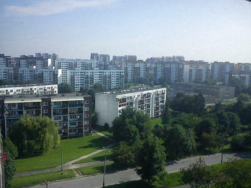 Jedno z osiedli w Sosnowcu
