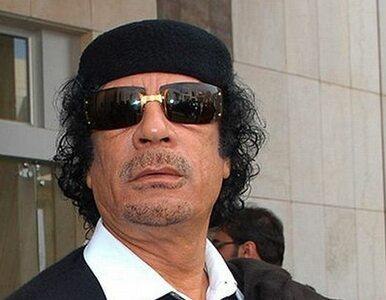 Kadafi krytykuje Zachód, ale chwali Niemcy