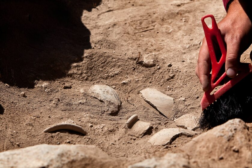 Praca archeologa, zdj. ilustracyjne