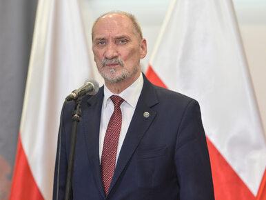 """Antoni Macierewicz zdradził kulisy swojej dymisji z MON. """"Nie uważałem,..."""