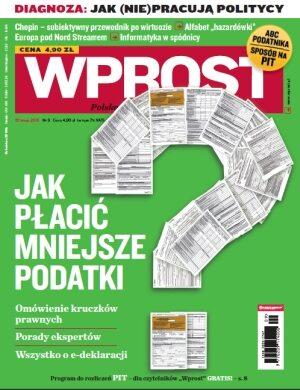 Okładka tygodnika Wprost nr 9/2010 (1413)