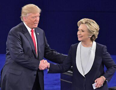 Sensacyjny sondaż. Clinton z minimalną przewagą nad Trumpem