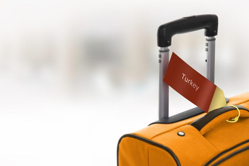 Turcja, podróż, walizka