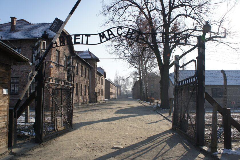 Główna brama obozu KL Auschwitz I