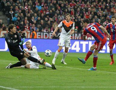 LM: Bayern rozstrzelał Szachtar. Siedem goli, trafił Lewandowski