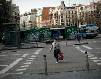 Rekordowa doba w Hiszpanii. Ponad 800 ofiar koronawirusa