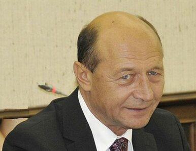 Prezydent Rumunii dopuszcza skrócenie swojej kadencji