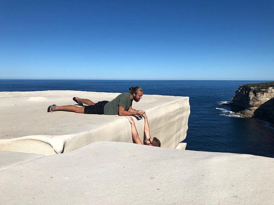 Niebezpieczne zdjęcia turystów wAustralii