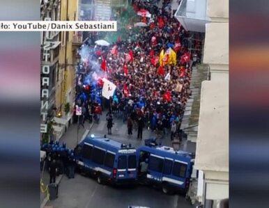 Protesty w Rzymie. 30 osób zostało rannych