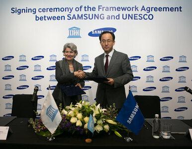 Globalny sojusz Samsung i UNESCO na rzecz edukacji