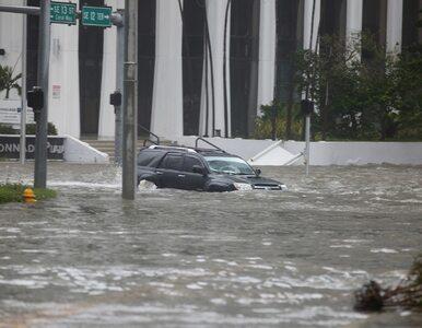 Zalane ulice, zniszczone domy, wyrwane drzewa. Tak wygląda Floryda po...