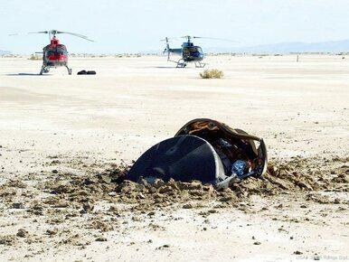 Latający spodek wylądował na pustyni w Utah. Czy to ślad obcej cywilizacji?