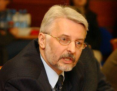 Waszczykowski złożył pozew przeciwko MSZ