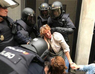 Dramatyczne sceny na ulicach Katalonii. Kilkuset rannych, krew i...
