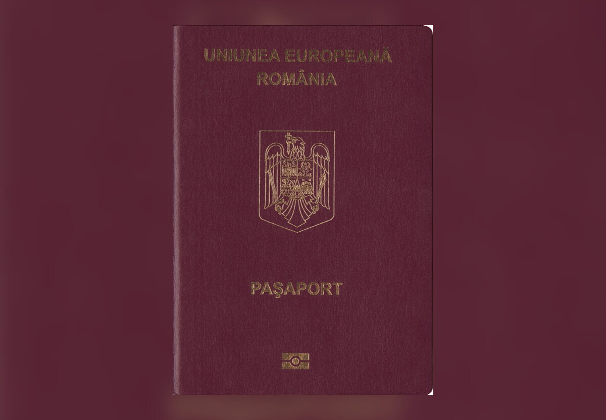 9. Rumuński paszport