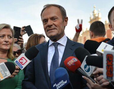 Gdańsk. Z okazji urodzin Donald Tusk życzył Adamowiczowi wygranej w II...