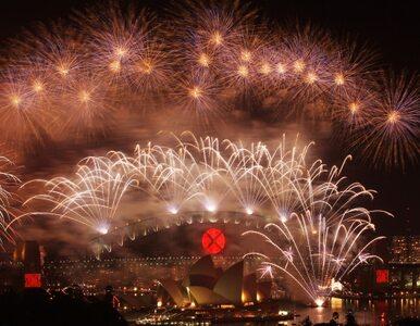 Siedem ton fajerwerków - Australia powitała Nowy Rok