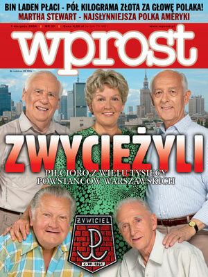 Okładka tygodnika Wprost nr 31/2004 (1131)
