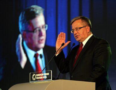 Komorowski: Timmermansa odznaczał także Lech Kaczyński