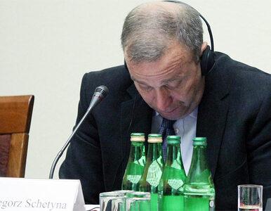 Schetyna: nie można wykorzystywać służb do walki z opozycją