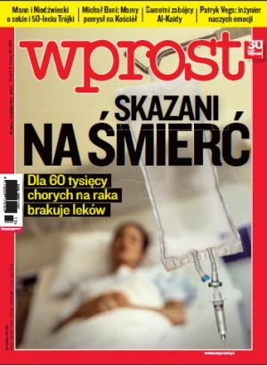 Okładka tygodnika Wprost nr 13/2012 (1519)