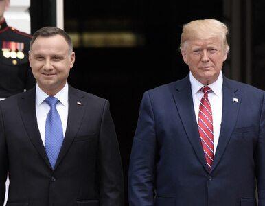 """Trwa spotkanie prezydentów Andrzeja Dudy i Donalda Trumpa. """"Zniesienie..."""